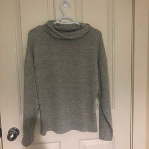 Shein Grey Turtleneck Sweater!